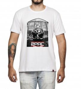 Camiseta Masculina - 2PAC