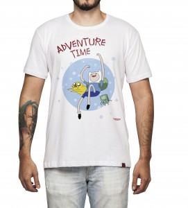 Camiseta Masculina - Adventure Time