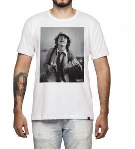 Camiseta Masculina - Angus Young - AC/DC
