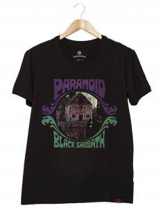 Camiseta Masculina - Black Sabbath - Paranoid