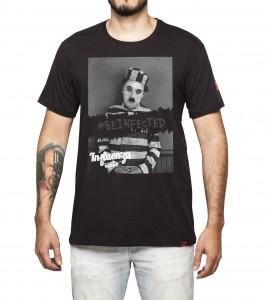 Camiseta Masculina - Chaplin