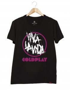 Camiseta Masculina - Cold Play