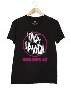Camiseta Masculina - Cold Play