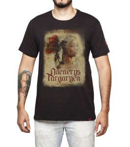 Camiseta Masculina - Daenerys - Game Of Thrones
