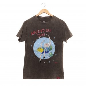 Camiseta Masculina Estonada - Adventure Time