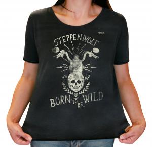 Camiseta Feminina Estonada - Born To Be Wild - Steppenwolf