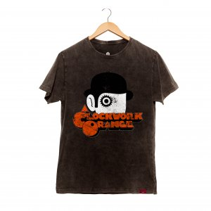 Camiseta Masculina Estonada - Clockwork Orange