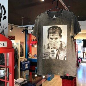 Camiseta Masculina Estonada - Dexter