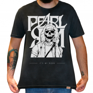 Camiseta Masculina Estonada - Pearl Jam