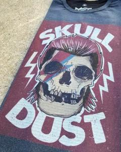 Camiseta Masculina Estonada - Skull Dust