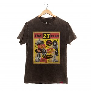 Camiseta Masculina Estonada - The 27 Club