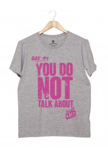 Camiseta Masculina - Fight Club Rule #1
