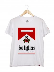 Camiseta Masculina - Foo Fighters 1
