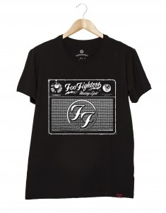 Camiseta Masculina - Foo Fighters Radio