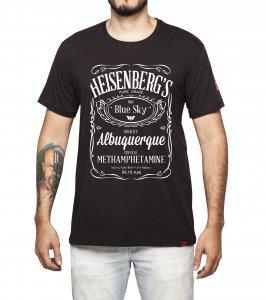 Camiseta Masculina - Heisenberg Blue Sky