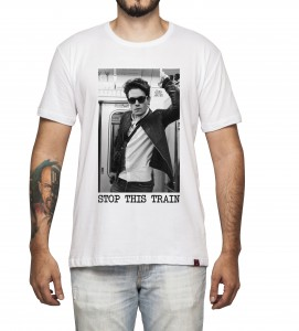 Camiseta Masculina - John Mayer - Stop This Train