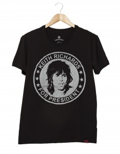 Camiseta Masculina - Keith Richards For President
