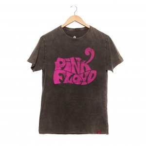 Camiseta Masculina Estonada - Pink Floyd