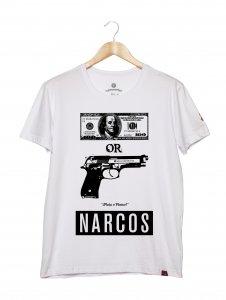 Camiseta Masculina - Plata o Plomo