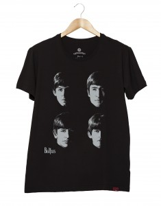 Camiseta Masculina - The Beatles Faces