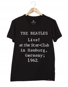 Camiseta Masculina - The Beatles - Live In Germany