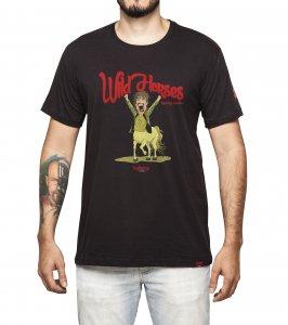 Camiseta Masculina - Wild Horses - Rolling Stones