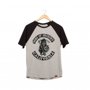 Camiseta Raglan - Sons Of Anarchy
