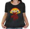 Camiseta Feminina Estonada - Bad Cat