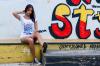 Camiseta Feminina - Los Pollos Rockeros