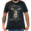Camiseta Masculina Estonada - Born To Be Wild - Steppenwolf