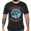 Camiseta Masculina Estonada - Los Pollos Rockeros