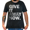 Camiseta Masculina Estonada - Red Hot Chili Peppers - Give It Away Now