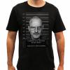 Camiseta Masculina Preta - Walter White - Mugshot 2