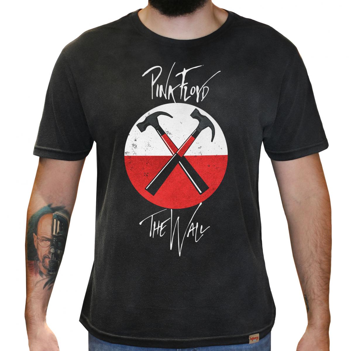 0280b1ec7 Camiseta Masculina Estonada - Pink Floyd The Wall