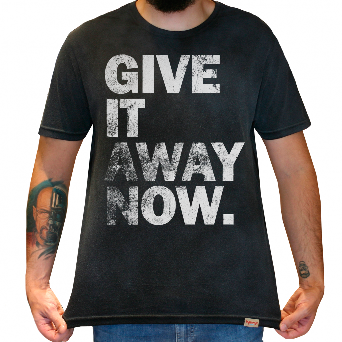 f593b25a1a Camiseta Masculina Estonada - Red Hot Chili Peppers - Give It Away Now