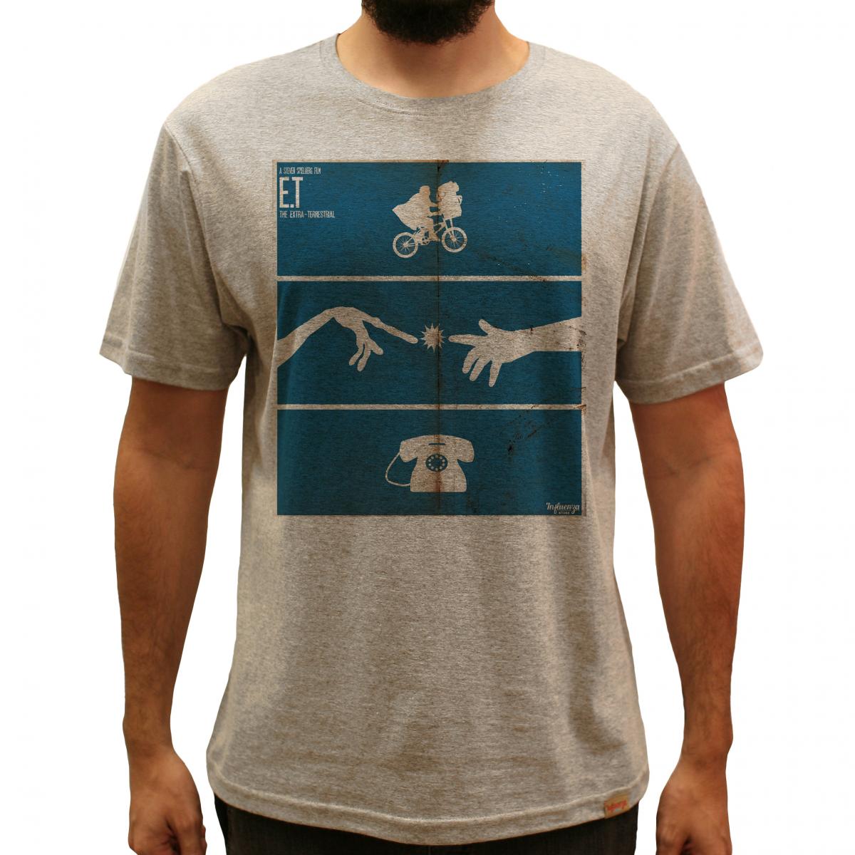 2ff5425fb9 Camiseta Masculina - E.T