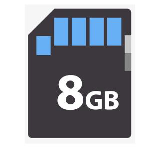 CARTÃO DE MEMÓRIA 8GB