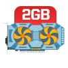 PLACA DE VÍDEO 2GB