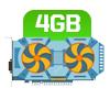 PLACA DE VÍDEO 4GB
