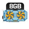 PLACA DE VÍDEO 8GB