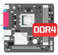 PLACA MÃE DDR4