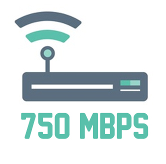 ROTEADOR 750MBPS