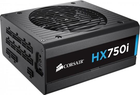 Fonte Corsair ATX 750W HXI750 Modular 80 Plus Platinum CP-9020072-WW