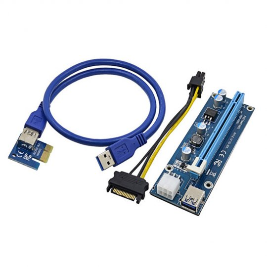 Cable riser VER006C PCI TO 16X mini PCI-E 60CM USB cable U34