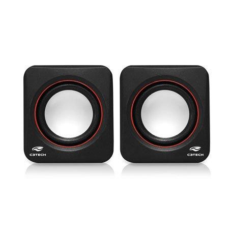 Caixa De Som 2.0 Sp-301bk C3tech