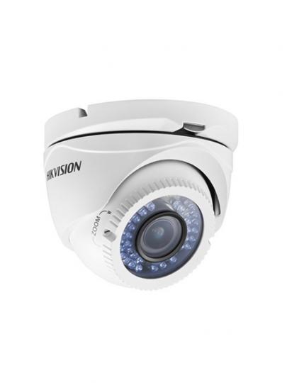 Câmera 1080p Vf 2.8 A 12mm Dome Ds-2ce56d1t-Vfir3 Hikvision