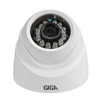 Camera IP 1MP Dome 2.8MM IR20M GSIP1M20DB28 (720P) Indoor Giga