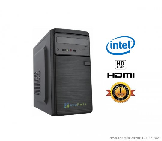 Computador Home Office Intel Core I3- 3220 - 4GB RAM, HD 320GB