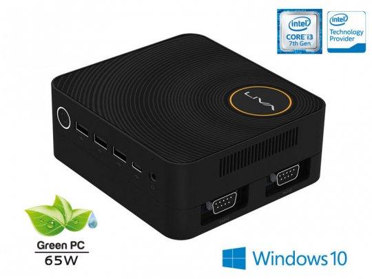 Computador Liva Ze Plus Intel Ultratop Core i3-7100u 4gb hd 500gb hdmi usb rede windows 10