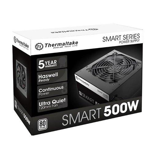 Fonte 500w Thermaltake Smart Atx2.3 80+ White Ps-spd-0500np
